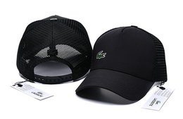 Nuevas marcas de moda al aire libre Snapback Caps Strapback Gorra de béisbol Deporte al aire libre Diseñador Hiphop Sombreros para hombres Mujeres cocodrilo Sombrero casquette desde fabricantes