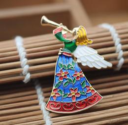 Spille fiabesche online-gioielli antichi donna fata angelo spilla donne ragazze soprabito accessorio modelli femminili popolare spot opaco vendite dirette speciali Pin