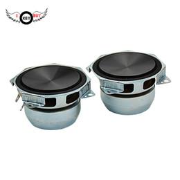 Comprar coches online-I Key Buy 1 Par 3 Pulgadas Audio Altavoces Portátiles 8Ohm 30W DIY Audio de Subwoofer de Rango Medio Altavoces de Música Estéreo auto