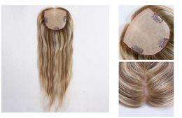 menschenhaar weben marken Rabatt 12A Grade Häutchen ausgerichtet 100% echte Jungfrau europäisches Haar handgebundene Seide Basis Haarspitze für dünner werdende Haare