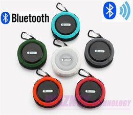 Argentina C6 Altavoz inalámbrico Bluetooth portátil Resistente al agua IP 65 Impermeable Mini altavoz portátil inalámbrico Bluetooth * 30set / lot Suministro
