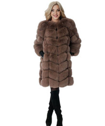 Женщина чун цю хан издание новый фонд высококачественные товары индивидуальный характер прилив в длинные деньги меха одно тело 9 минут рукав пальто / S-3XL от
