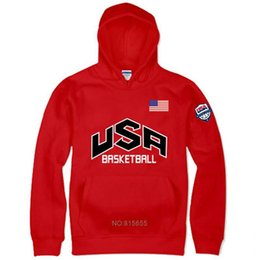 trikot hoodie mode Rabatt 2018 neue team USA jersey herbst hoodies mode männer sweatshirt streetwear marke lustige hip hop fleece harajuku