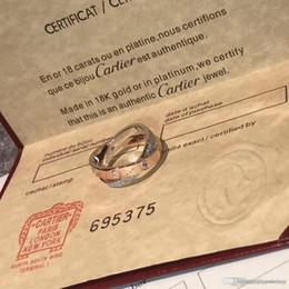 2019 impostazioni del diamante rotondo anelli dei monili delle donne 925 anello d'argento sterlina del diamante carrello di marca bague dame anello di lusso della donna scatola originale di Anel de senhora
