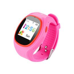 Monitoraggio delle schede sim online-Mini Orologi for Kids GPS Tracking SIM smart Guarda con il bracciale SOS LBS Mini bambini Digital Security per Android