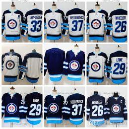 2019 marchio jersey Winnipeg Jets 2016 Heritage Classic 29 Patrik Laine Jersey Uomo 26 Blake Wheeler 33 Dustin Byfuglien 55 Mark Scheifele Hodkey Maglie marchio jersey economici