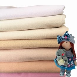 набивка ткани Скидка Хаки кукла кожа флисовая ткань Tissu сплошной цвет плюшевая ткань для шитья лоскутное стеганое наполнение хлопок кукла парик аксессуары