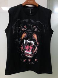 T-shirts pour hommes en Ligne-Designer de luxe de vêtements pour hommes t-shirts à manches courtes pour hommes 3 d hip-hop gros chien collection d'animaux impression T-shirt robe Camisa Masculina designer