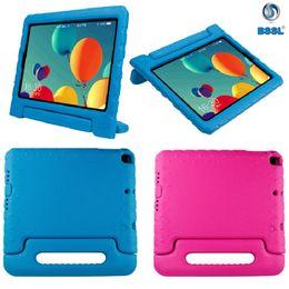 Kinder shockproof ipad fall online-Shockproof Kids Fall Kinder Griff Standplatz-Haut Shell EVA Schaum Tablet-Abdeckung für Apple iPad Air Mini Samsung ipad Pro 9.7