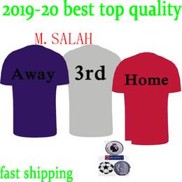 c8ede56d46 2019 camisa vermelha 18 19 SALAH FIRMINO Mens Camisas de Futebol LALLANA  MATIP Liga dos Campeões