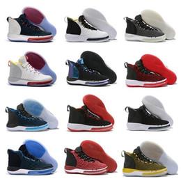 Femme taille chaussure en chine en Ligne-Coupe du Monde 2019 AlphaDunk EP hoverboard Chameleon USA Chine FIBA Basketball pour Femmes Jeunes Enfants Hommes Chaussures de sport Taille 40-46