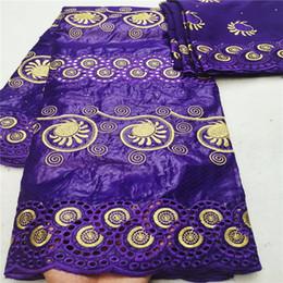 getzner brocado de guinea Rebajas 2019 nueva llegada tela africana bazin riche getzner con cordón de perlas tela de encaje brocado de guinea para boda HL081403