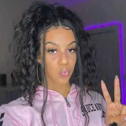 clips africanos gratis Rebajas 140g Rizado rizado de las mujeres Ponytails extensión del pelo africano ameircan Clips 100% cabello humano fácil color de cola de caballo 1b envío gratis