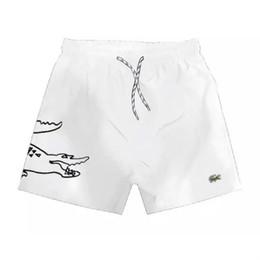 Brand New calções de crocodilo Mens cabeça de crocodilo Tubarão macacos Shorts crocodilian Mens Verão Praia Surf Swim Swimwear Esporte de