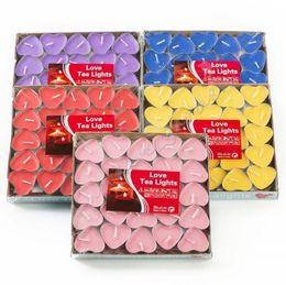 kaktus kerzen großhandel Rabatt 2 Stunden Kerze Hosleys Set mit 50 Teelichtern im Herzstil, rauchfrei und geruchlos. Teelicht zum Geburtstag, Valentinstag, Hochzeiten