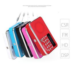 Nouveau Mini Portable Avec Antenne Radio FM Haut Parleur Lecteur MP3 Nouveau Haut Parleur Radio Multi-usages ? partir de fabricateur