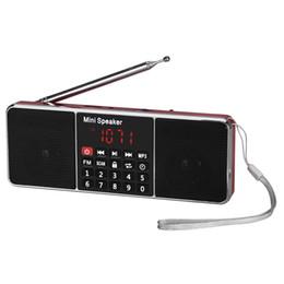 flash player mp3 Desconto Os oradores portáteis do painel LCD do reprodutor de música do orador do rádio de FM podem jogar a música MP3 do cartão do TF e da movimentação instantânea do USB
