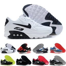 nike air max 90 airmax  2018 Hot Sale Cushion 90 Chaussures De Course Hommes 90 Haute Qualité Nouveaux Baskets Pas Cher Chaussures De Sport Taille 40-45 R645 ? partir de fabricateur