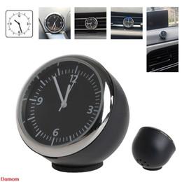 Car Mini relógio de quartzo Assista Pointer Digital Relógio para Decoração Auto Suprimentos Damom de Fornecedores de peças de relógio de parede de quartzo