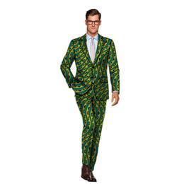 2019 vestiti nigeriani Nuovi arrivi moda modello abiti uomo africano stampato tute pantalone per matrimonio nigeriano abiti tradizionali dashiki tradizionali vestiti nigeriani economici