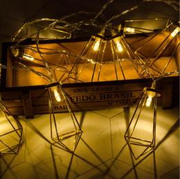 la goccia d'acqua ha portato le luci di notte Sconti Lampada a goccia di pietre di diamante di colore LED Lampada di decorazione di balcone all'aperto Lampada di flash stringa Decorazione di luci notturne nelle camere dei bambini