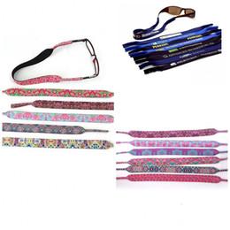 Очки против скольжения онлайн-Материал для дайвинга Lilly Pulitzer Eyeglasses Belt Anti Shedding Цветочная печать Нескользящие ремни Мужчины и женщины Универсальный складной портативный 0 78er I1