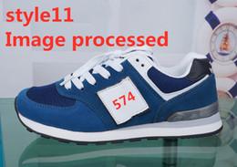 2019 bottes décontractées pour hommes 2019 574 Marque femmes HOMME Créateurs Ins super feu respirant mode décontractée 574 nb chaussures de mode pour étudiants