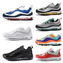 pvc snow shoes Promo Codes - New Mens Womens Running Shoes triple black white Gundam Cone Gym Red mens trainers sports sneakers size 36-45