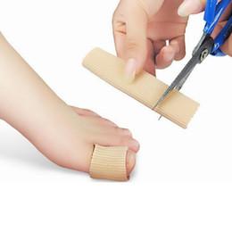 Werkzeugteiler online-Füße Finger Corrector Einlegesohlen Stoff Gel Silikonschlauch Bunion Zehen Finger Teiler Schutz Hühneraugen Schwielen Gesundheitspflege Schönheit Werkzeug