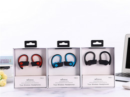 Auriculares nfc online-TWS S-3 Auriculares inalámbricos verdaderos Función NFC auriculares bluetooth con micrófono para funcionar con paquete minorista