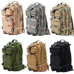 Рюкзаки для рыбалки онлайн-2019 1000D нейлон 8 цветов водонепроницаемый открытый военные рюкзаки тактический открытый рюкзак спорт отдых туризм треккинг рыбалка охота сумка