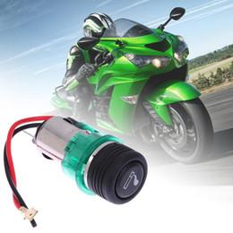 2019 caricabatteria per auto mini plug plug eu 12V 120W del motociclo del crogiolo di automobile della sigaretta del potere presa OUT Universal Plug accendisigari Usb Presa a muro di alta qualità