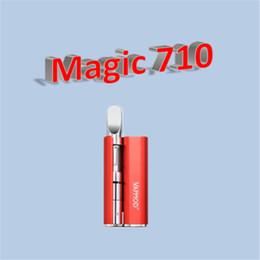 DHL free VapMod Magic 710 Kit 380mAh Battery Vaporizer Vape Pen Mod For 510 Thread Thick Oil Ceramic Coil XTank Pro Cartridge Atomizer desde fabricantes