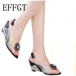 EFFGT 2019 Лето Горячие Продажи Рим стильный высокое качество моды Женщины клин сандалии пятки платье повседневная обувь Туфли на Высоких Каблуках cheap stylish women summer heels от Поставщики стильные женские летние каблуки