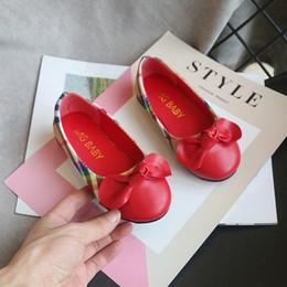 sapatos de couro para a escola Desconto Marca 2020 X primavera Nova menina sapatos de couro versão coreana princesa estudante da escola primária outono único fundo macio antiderrapante