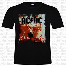 AC//DC Angus US Rock Or Bust 2015 Tour Black T Shirt New Official