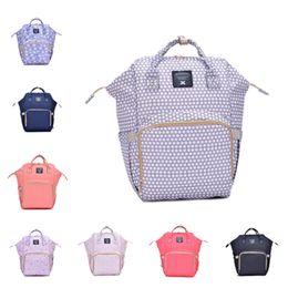 sacchetti di pannolini gialli Sconti Borse per pannolini Mommy Backpack Pannolini Zaino Moda Madre Zaini per maternità Outdoor Desinger Borse per viaggi Infermieristici T2D5034