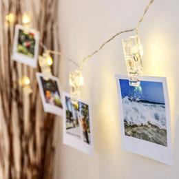 1m 2m 3m 4m 6m Lampada con foto per foto Luci a LED a batteria Batteria o USB DC 5V Festa di Natale Decorazione di nozze Luci di fiabe da
