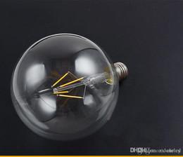 2019 r7s led lamp 78mm G125 Edison llevó estilo de época bombilla de filamento de vidrio de 360 grados E27 AC85-265V de la bombilla de Edison Iluminación para el hogar