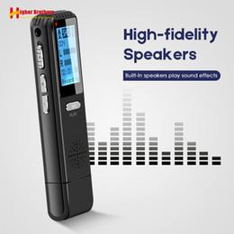 Verstecktes mikrofon online-Mini Voice Activated Recorder Player Registrar Versteckter Ton Mikrofon Telefonaufnahme Kleinster Stift DSP Reduction Diktiergerät
