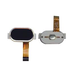 Teléfono flex cinta online-Botón de inicio de alta calidad de 5 pulgadas para MEIZU M2 Mini Sensor de clave de retorno de huellas dactilares de la cinta Meilan M2 Teléfono Flex Cable de reemplazo