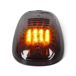 5 шт. / компл. 9 Вт 12 LED ABS кабины крыши топ маркер свет работает просвет для Dodge пикап янтарный цвет купола автомобиля свет от