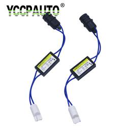 resistore led YCCPAUTO T10 W5W LED Auto Canbus Cable Warning Canceller Decoder 501 192 168 Luci auto NO Errore Canbus OCB Load da 15 perline fornitori