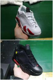 Nike Air Jordan Retro Shoes 2019 El más nuevo XIV medio alto 14 14S exterior Niños zapatos de baloncesto niño niña niño deporte Correr zapatilla de deporte tamaño 28-35 desde fabricantes