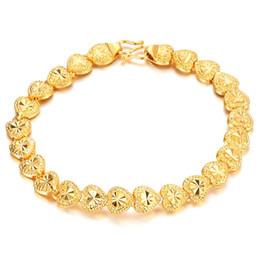 Bracelets vintage bracelets or 14k en Ligne-2018 Nouveau Mode Luxe Bracelets De Mariage Bracelets Vintage Or Rempli Bracelet Bracelets Coeur Pour Les Femmes