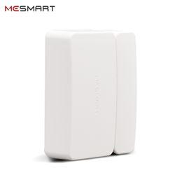 2019 магнитный контакт двери аварийной двери MESMART Smart Magnetic Contact Sensor Door Garage Drawer Closet Window Open/Close Alarm Reminder APP Notification (Hub Required) дешево магнитный контакт двери аварийной двери