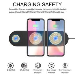 2019 мобильные телефоны мобильных телефонов Многофункциональное 3-в-1 беспроводное зарядное устройство для часов ABS Зарядное устройство для мобильного телефона Apple Стенд для зарядки наушников скидка мобильные телефоны мобильных телефонов