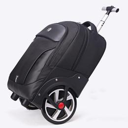 Новый дизайн тележки прокатки багажа большое колесо поездки сумка на плечо путешествия мужчины / женщины большой емкости чемодан легкая посадка чемодан от