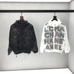 Женские куртки ветровки онлайн-Новые мужские дизайнерские куртки женская ветровка не съемный капюшон Куртка для человека брендовая одежда Chaquetas Hombre