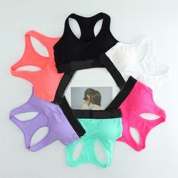 Soutien-gorge sexy en Ligne-Sexy Love Letter Gilet Pour La Maison Soutien-Gorge Running Yoga Shirts Gym Gym Soutien-Gorge Push Up Élastique Crop Tops Sous-vêtements